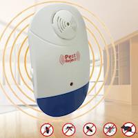 Bunny 新智能全方位LED超音波驅蚊蟲器驅鼠器(3入)