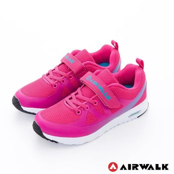 AIRWALK(KEDS)- 大角鯊 輕量氣墊方便黏扣兒童運動鞋