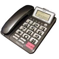 SANYO 三洋 可調式超大螢幕、超大字鍵有線電話機 TEL-827