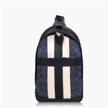 COACH 旅行必備 PVC / 背包 / 後背包 深藍