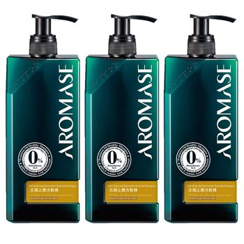 Aromase艾瑪絲 去屑止癢洗髮精-高階版(400ml) 3入組