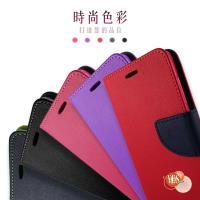 HTC One E8  新時尚  側翻皮套