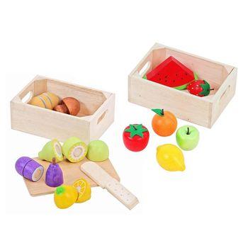 Mentari 安全無毒玩具家家酒系列 小寶貝的私房食材 新鮮水果
