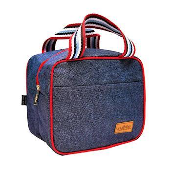 DF Queenin - 丹寧色系保溫保冷便當袋野餐袋