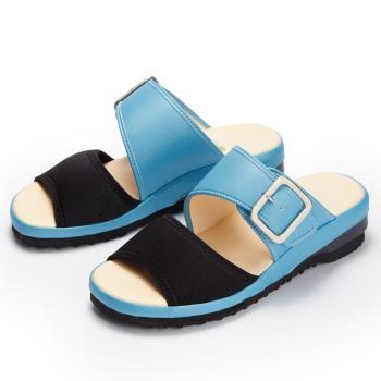 洋森生活-MIT銀釦萊卡拖鞋-2色#YS575