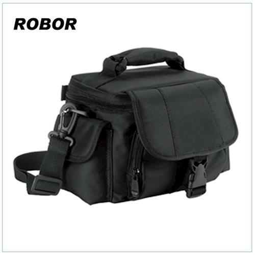 韓系型男 ROBOR輕便休閒風相機包/類單眼相機包/一機一鏡(黑色)