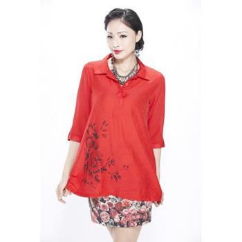 蘭陵日本素材訂製款上衣罩衫3+2入 105-03-06