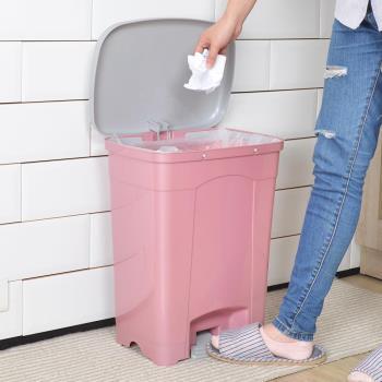 【nicegoods】吉利潔腳踏式垃圾桶25L