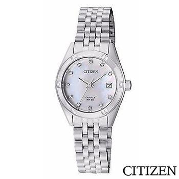 CITIZEN星辰 施華洛世奇刻度海神女仕手錶 EU6050-59D