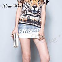 CHENG DA 春夏專櫃精品女裝時尚流行牛仔短裙 NO.124676