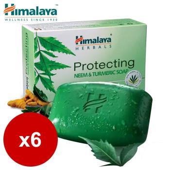 Himalaya喜馬拉雅 苦楝薑黃護膚皂 75g (6入)