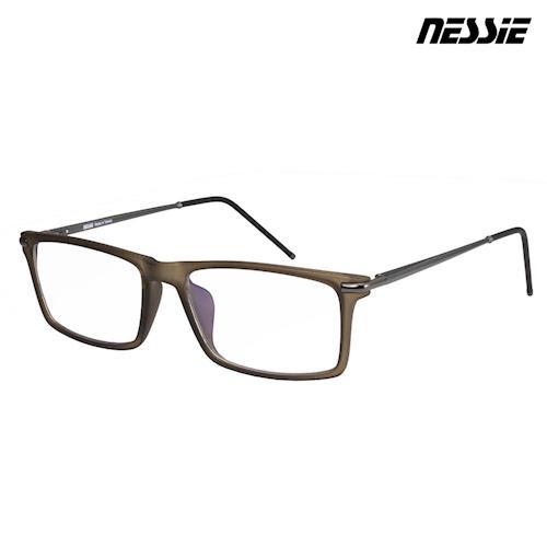 【Nessie尼斯眼鏡】抗藍光眼鏡-經典系列-知性墨綠 贈精美眼鏡盒 高科技鍍膜 專業反射式濾藍光鏡片
