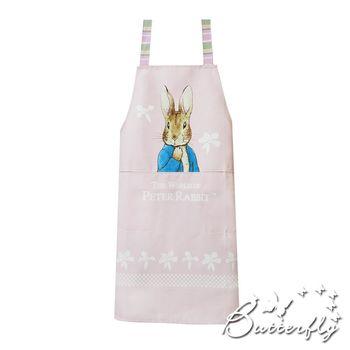 Butterfly-彼得兔圍裙-粉色立兔