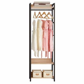 Bernice-裴拉2尺開放式單吊衣櫃