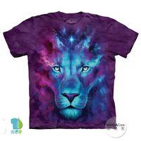【摩達客】(預購)美國進口The Mountain 獅王誕生 純棉環保短袖T恤
