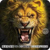 【摩達客】(預購)美國進口The Mountain 亞洲獅王 純棉環保短袖T恤