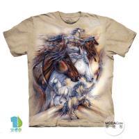 【摩達客】(預購)美國進口The Mountain 奔馬之旅 純棉環保短袖T恤
