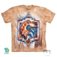 【摩達客】(預購)美國進口The Mountain 繼續跳舞 純棉環保短袖T恤