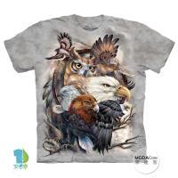 【摩達客】(預購)美國進口The Mountain 鷹之王 純棉環保短袖T恤
