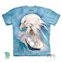 【摩達客】(預購)美國進口The Mountain 和平鷹 純棉環保短袖T恤
