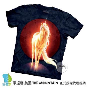 【摩達客】(預購)美國進口The Mountain 再見獨角獸 純棉環保短袖T恤