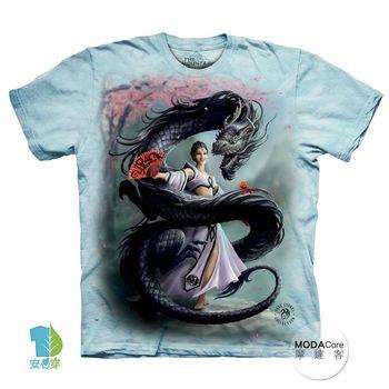 【摩達客】(預購)美國進口The Mountain 龍舞者 純棉環保短袖T恤