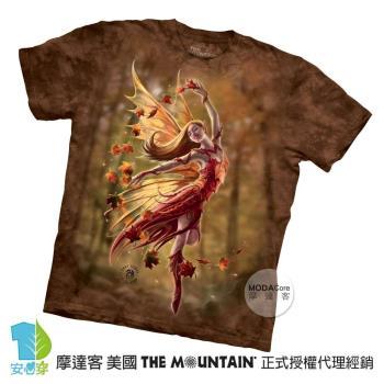 【摩達客】(預購)美國進口The Mountain 秋仙女精靈 純棉環保短袖T恤