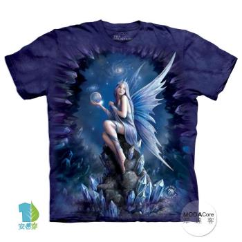 【摩達客】(預購)美國進口The Mountain 星球天使 純棉環保短袖T恤
