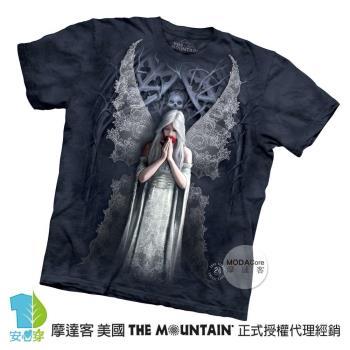 【摩達客】(預購)美國進口The Mountain 天使之愛 純棉環保短袖T恤