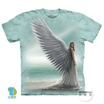 【摩達客】(預購)美國進口The Mountain 天使女神 純棉環保短袖T恤