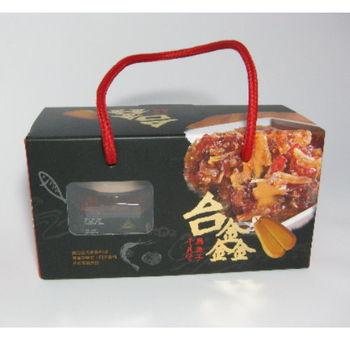 台鑫-烏魚子干貝醬2罐 (盒裝)