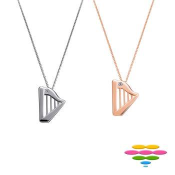 彩糖鑽工坊 幸福樂章系列 鑽石項鍊 (PD179.184)