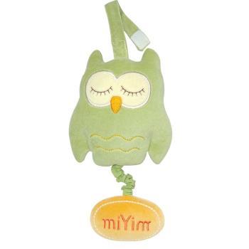 美國miYim有機棉 音樂拉鈴(歐唷貓頭鷹)