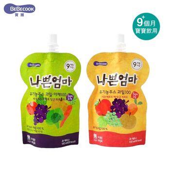 【韓國 BEBECOOK】智慧媽媽 嬰幼兒綜合果汁/綜合蔬果汁