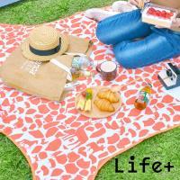 【Life Plus】動物叢林  造型野餐墊/遊戲墊_加大款 (多款任選)