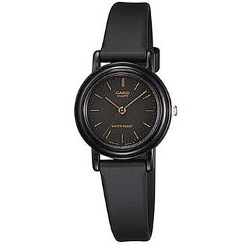 【CASIO】薄型輕巧指針錶-羅馬黑面 (LQ-139AMV-1E)