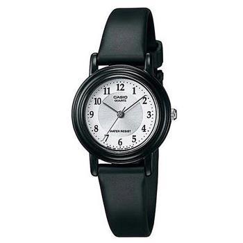 【CASIO】薄型輕巧指針錶-數字銀白面 (LQ-139AMV-7B3)