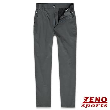 ZENO傑諾 速乾輕薄四面彈力長褲‧灰色M-3XL