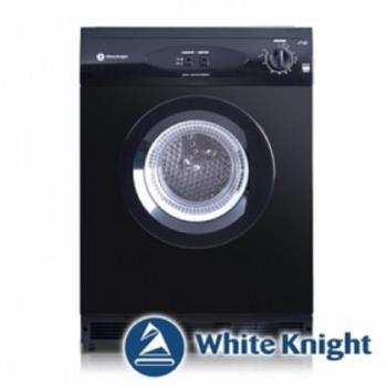 White Knight 6kg 貴族滾筒乾衣機 600AB (黑色)