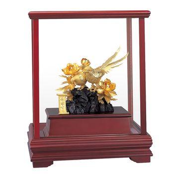 【開運陶源】 純金 立體金箔櫥窗禮品~錦繡前程