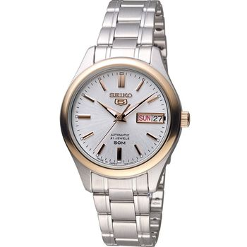 SEIKO 精工 經典五號金色年華機械錶 7S26-04K0KS SNK882J1