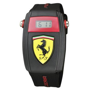 Scuderia Ferrari 法拉利 賽車電子腕錶 35mm 0810012