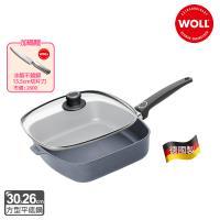 WOLL德國 新鑽石系列方型平底鍋含蓋30cm