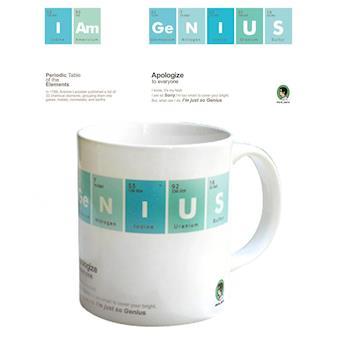 賽先生科學工廠|科學馬克杯系列 我是天才
