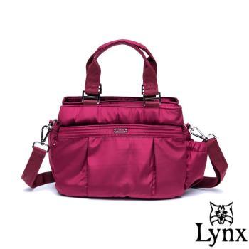Lynx - 山貓城市樂活款輕盈尼龍側背手提包-共2色