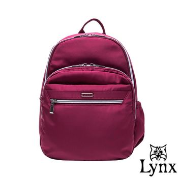 Lynx - 山貓城市樂活款輕盈尼龍後背包-共2色