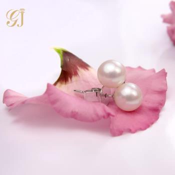 晉佳珠寶 Gemdealler Jewellery 蘊藏著變幻莫測之美 14K金天然淡水珍珠耳環 7mm