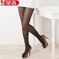 華貴絲襪 - 3.5.7專業塑型加褲叉彈性絲襪(黑色)-18雙入