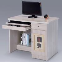 Homelike 自然風味電腦桌-白雪松