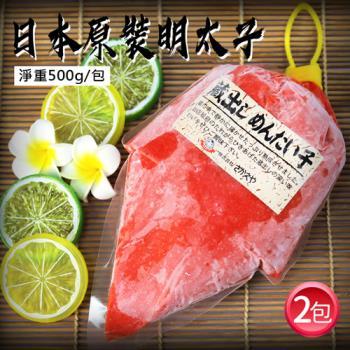 築地一番鮮 日本原裝明太子沙拉2包(500g/包)